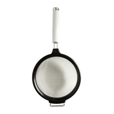 STRAINER 17.5CM WHITE, KITCHENAID
