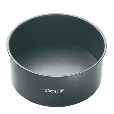 CAKE PAN DEEP 23CM N/S, MASTERCRAFT
