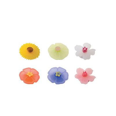 DRINKS MARKER FLORAL 6PC CHARLES VIANCIN