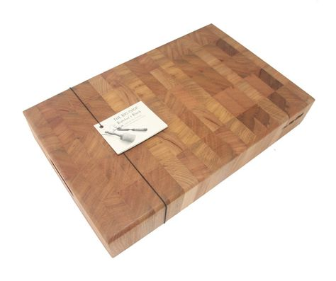 BUTCHERS BLOCK 500X355X90MM OAK, BIGCHOP