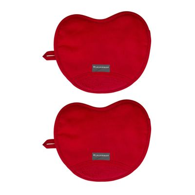 OVEN MITT SET-2 RED, SAVANNAH
