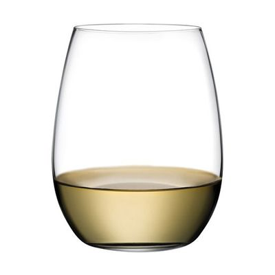 GLASS STEMLESS WHITE 370ML, NUDE PURE