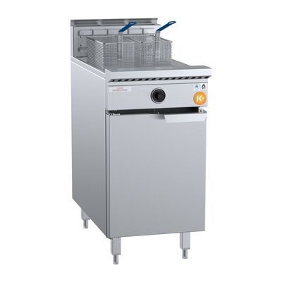 FRYER 2  BASKET SNGL PAN TURBO B+S K+