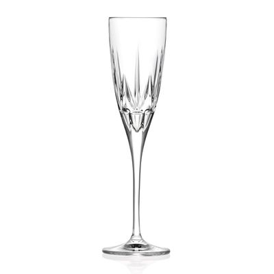 GLASS FLUTE 150ML, RCR CHIC