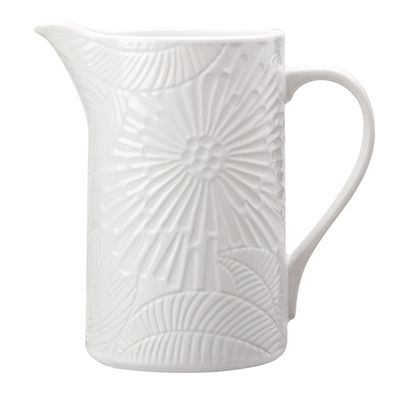 PITCHER CERAMIC WHITE 1.4LT, M&W PANAMA
