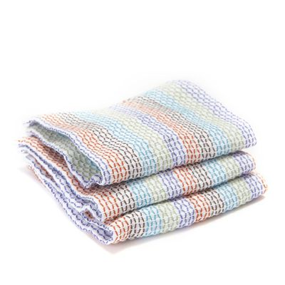 DISH CLOTH SET-3 MULTI, FULL CIRCLE