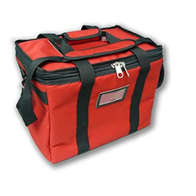 BAG DELIVERY SMALL HEAT RED 39X30X25CM