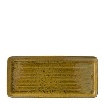 PLATE REC BRONZE 35.6X16.5CM, DUDSON EVO