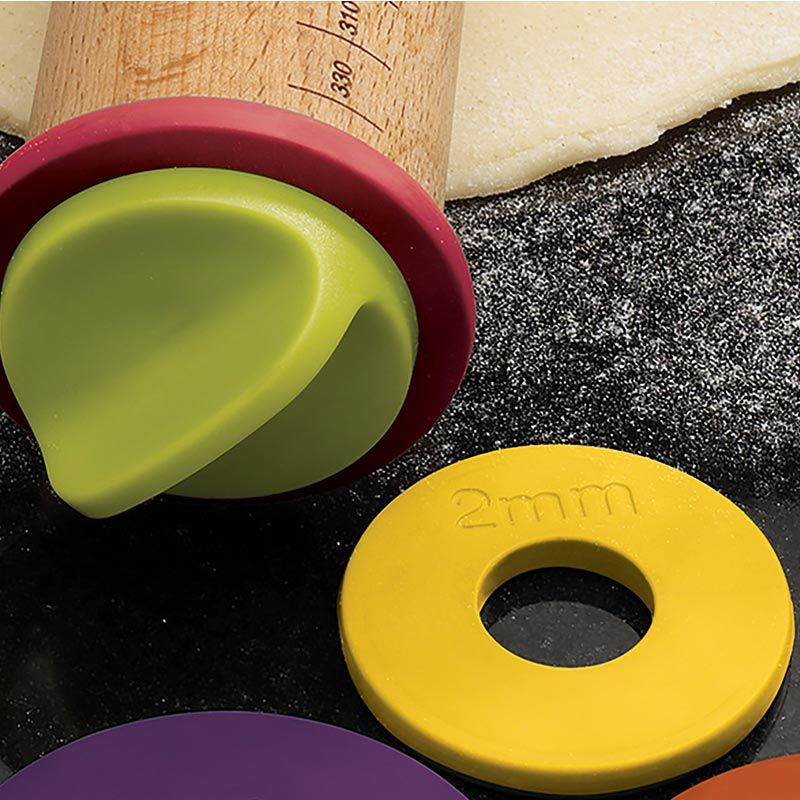 ROLLING PIN ADJUSTABLE COLOURED, JOSEPH