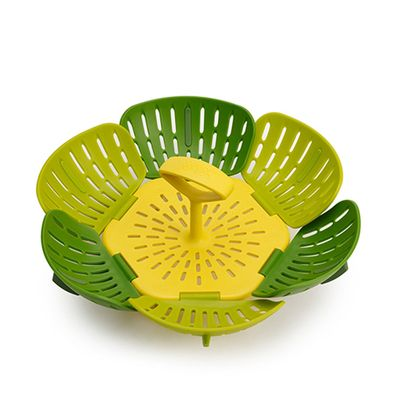STEAMER BASKET GREEN BLOOM, JOSEPH