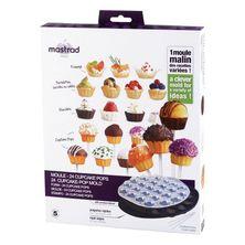 MOULD CAKE POP 24 CUP SILICONE, MASTRAD
