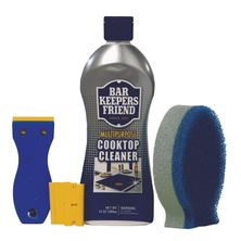 COOKTOP CLEANING KIT, BAR KEEPERS FRIEND