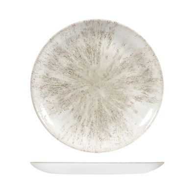 PLATE AGATE GREY 288MM, CHURCHILL STONE
