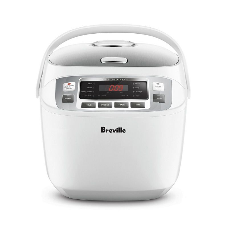 RICE COOKER10-CUP SMART RICE, BREVILLE