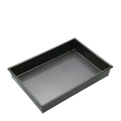 CAKE PAN RECT DEEP N/S 34X23X5CM, M/PRO