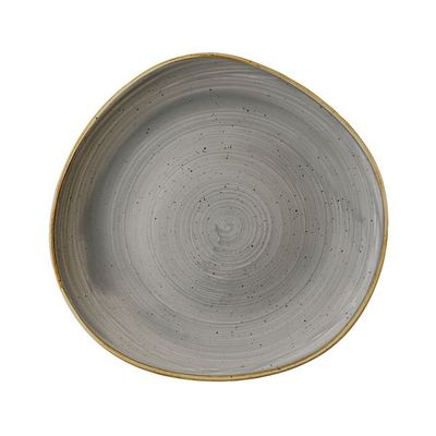 PLATE TRACE GREY 286MM, C/HILL STONECAST