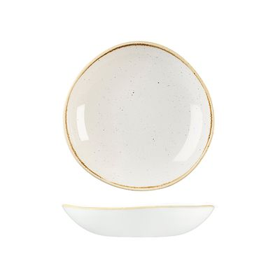 BOWL TRACE WHITE 253MM, C/HILL STONECAST