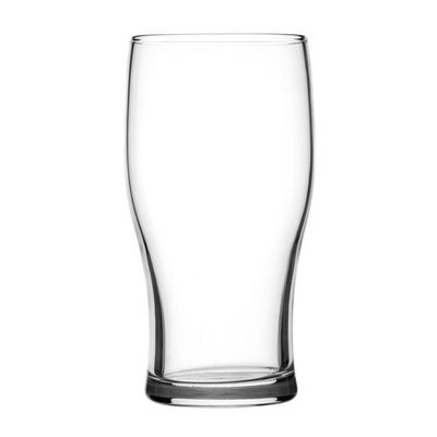 BEER GLASS NUCLEATED 570ML, CROWN TULIP