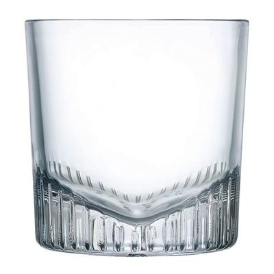 GLASS WHISKEY DOF 325ML, NUDE CALDERA