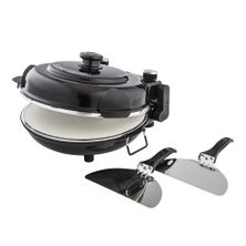 PIZZA MAKER BLACK W/2 PADDLES, MASTERPRO