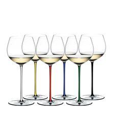 GLASS OAK CHARDONNAY SET6, FATTO A MANO