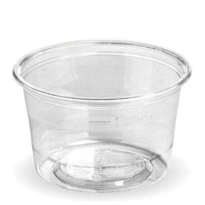 CUP SAUCE CLEAR 140ML, BIOCUP