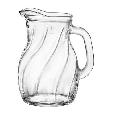 JUG GLASS 1LT, BORMIOLI TWIST BISTROT