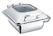 CHAFER 1/2 SIZE S/S, CHEF INOX DELUXE