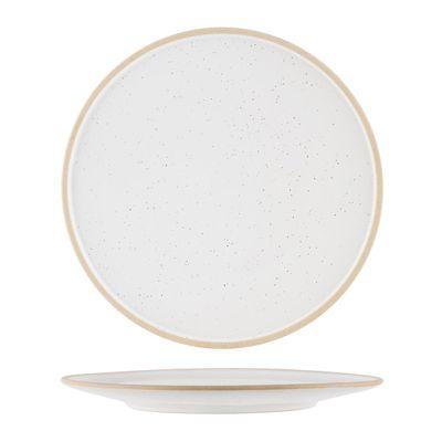 PLATE WHITE PEBBLE 285MM, TK SOHO