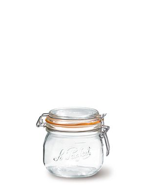 LE PARFAIT, JAR GLASS W/CLIP TOP