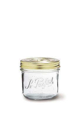 JAR GLASS SCREW TOP,  LE PARFAIT