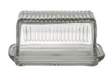 BUTTER DISH GLASS, ACADEMY