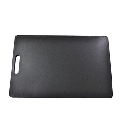 CUTTING BOARD BLACK 300X450X12MM PE