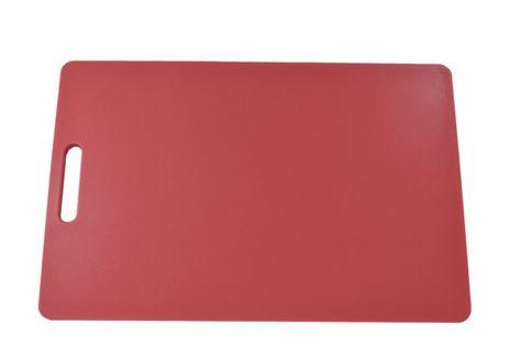 CUTTING BOARD PINK 300X450X12MM PE