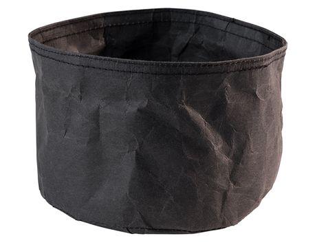 BREAD PAPER BAG BLACK 17X11CM, APS