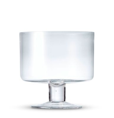 TRIFLE BOWL FOOTED 20CM , S&P SALUT