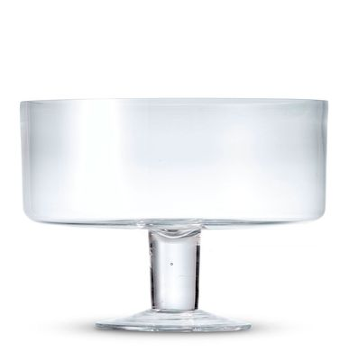 TRIFLE BOWL FOOTED 26CM , S&P SALUT