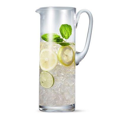 GLASS JUG CYLINDER 2LT, S&P SALUT