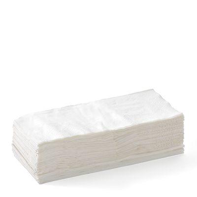 NAPKIN LUNCH WHITE 2PLY GT BIOPAK