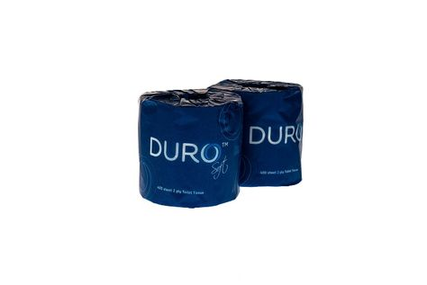 TOILET ROLL 2-PLY 400SH, DURO