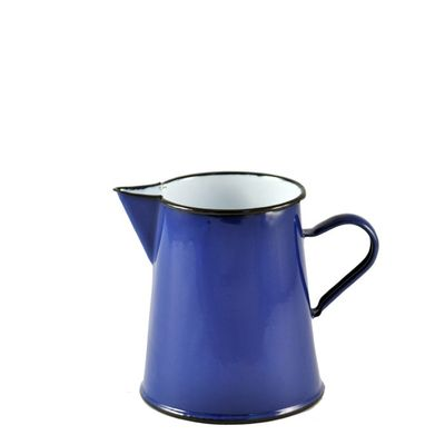 URBAN STLE ENAMEL PITCHER 1LT ASSORTED