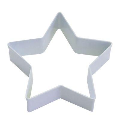 COOKIE CUTTER STAR 9CM WHITE