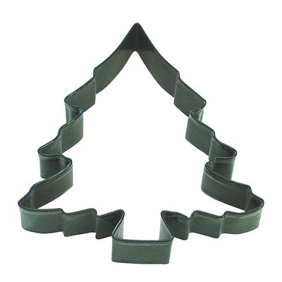 COOKIE CUTTER XMAS TREE 12.75CM GREEN