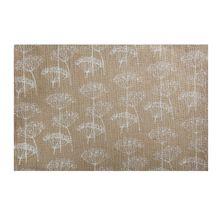 PLACEMAT RECT WHITE BURLAP 45X30CM, M&W