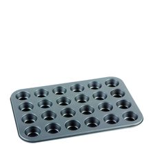 MUFFIN PAN 24 CUP N/STICK, CUISENA