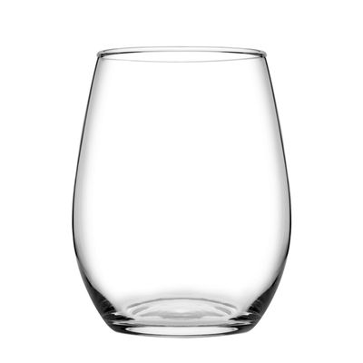 GLASS STEMLESS, PASABAHCE AMBER