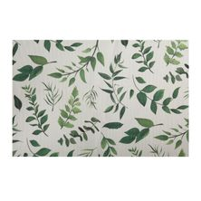PLACEMAT RECT LEAVES 45X30CM,M&W