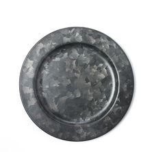 PLATE GALVANISED BLK 230MM, CONEY