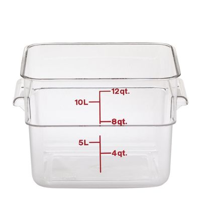 FOOD CONTAINER POLYCARB CLEAR CAMBRO