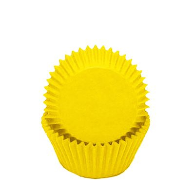CUPCAKE CASE YELLOW 50PK, SWEET THEMES